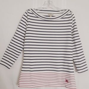 Burberry Brit striped boatneck size M  top